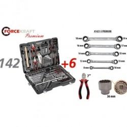 Гедоре 142+6 части FORCE KRAFT Premium