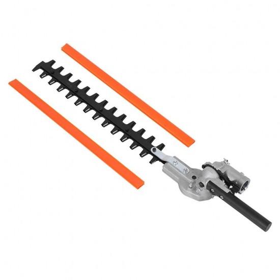 Приставка храсторез за  бензинов тример мултитул / Ножица за жив плет 7 или 9 шлици