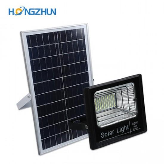 100W LED Прожектор за външен монтаж + Соларен панел  + Дистанционно